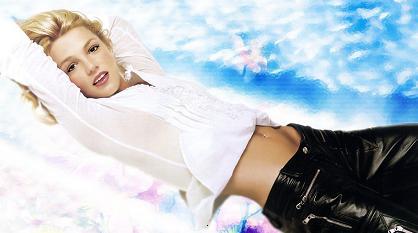 Britney i medvind