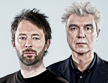 David Byrne interviewer Thom Yorke for Wired