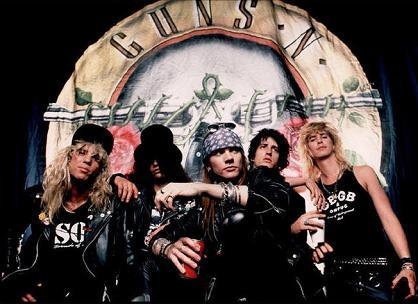 Guns N' Roses skaber panik på skole