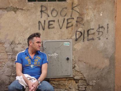 Morrissey lufter nyt materiale