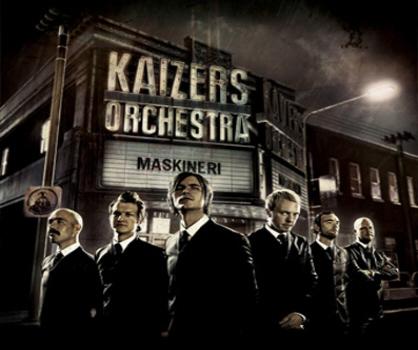"Anmeldelse Kaizers Orchestra ""Maskineri"""
